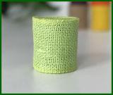 Rodillo tejido coloreado de la tela de la arpillera del yute