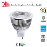 12V MR16 Gu5.3は白い点の電球ランプ12Vを暖める