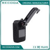 夜間視界1296p HD GPSのボディによって身に着けられているカメラのレコーダー