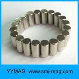 Imán del neodimio del cilindro de la capa D12X15mm del níquel N52