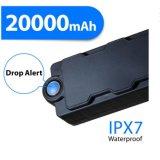 Batterie imperméable à l'eau Gpstracker de traqueur du véhicule GPS de Tk20 Bluetooth grande pour le véhicule personnel/actifs