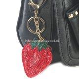 보석 선물의 형식에 의하여 채워지는 베개 딸기 부대 부속 열쇠 고리