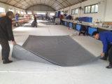 Encerado impermeable tratado ULTRAVIOLETA de la tela del PVC para la cubierta del carro