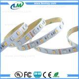 12/24V 5050 cuatro colores en una luz de tira de la viruta LED