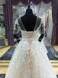 Мантии шнурка Bridal замыкают накоротко втулки отбортовывая платья венчания Z613