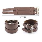 Neues DIY ledernes Armband 27cm für Mann-Geschenk-Verpackungs-Armbänder