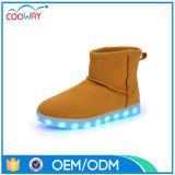 OEM van de Fabriek van China de LEIDENE van de Laarzen van de Sneeuw Lichte Uitstekende kwaliteit van Schoenen