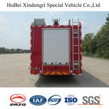 euro antincendio 4 del camion della gomma piuma di 16ton HOWO