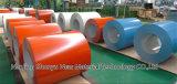 Bobina de acero de acero de aluminio galvanizada prepintada de las bobinas PPGL