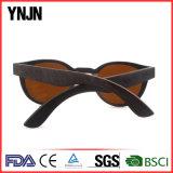 Ynjnの高品質男女兼用の分極された木製のSunglass