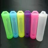 La batterie de vente chaude de l'affaire 18650 de silicones de Vivismoke protègent des couleurs de l'affaire 19 de silicones pour la caisse de batterie des silicones 18650