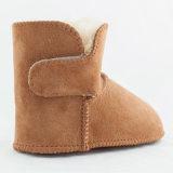 Chaussures de bébé mérinos de basane de l'Australie de double face