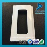 Profil en aluminium d'extrusion d'alliage du guichet 6063 de porte d'obturateur de rouleau/roulement