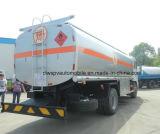유조 트럭이 Dongfeng 4*2 12t 석유 탱크에 의하여 12000 리터 급유한다