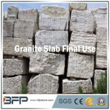 Granit de lieu de prière, escaliers, opérations et semelles blancs, pierre de matériau de construction