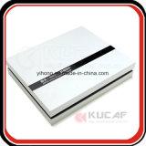Caixa de empacotamento ajustada UV reversa do creme de face do papel de prata da impressão com bandeja de EVA