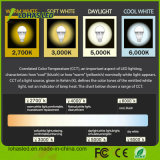 Ampoule en plastique en aluminium de Dimmable DEL de haute énergie d'éclairage LED de boîtier
