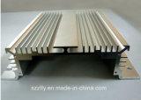 Aluminium 6063/6061 profil de anodisation de radiateur/radiateur d'alliage d'extrusion