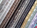 Tessuto del velluto del sofà della tessile della famiglia del cuscino della tappezzeria del poliestere