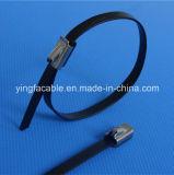 Acier inoxydable de serre-câble 304 en métal avec l'enduit
