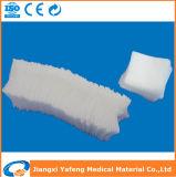 Tamponi a gettare non sterili della garza del cotone assorbente
