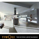 Pre Assembled Kitchen Cabinets with Clean High Gloss Painting design Tivo - 0135h