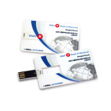 Vara da memória do cartão do USB da cor cheia com seu logotipo