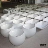 Meubles de salle de bain Surface solide au-dessus du lavabo de comptoir