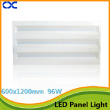 Iluminación del panel de la luz de techo de la manera 600X1200m m LED del Ce
