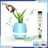 Flowerpot astuto di musica del mini altoparlante senza fili multifunzionale di Bluetooth