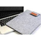 Sac protecteur d'ordinateur portatif et de tablette de qualité de couverture en gros de feutre