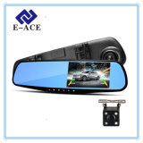 4.3 carro DVR de Registrator da câmara de vídeo do gravador de vídeo de Dashcam Digitas da polegada auto