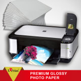 Papier lustré élevé en gros de photo de jet d'encre de papier de photo du prix usine A4 200g