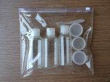 Bolso suave transparente del Ziplock del PVC de la impresión de encargo