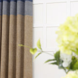 Finials 100% luxuosos da cortina do poliéster da venda da fábrica com retalhos