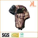Зимы камуфлирования полесья шерсти Polyester& шлем звероловства прованской теплый
