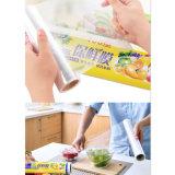 Transparente Calidad superior Mejor embalaje de alimentos frescos Film Adhesive Film PE Cling Film