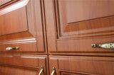 Cabina de cocina de madera del final moderno del PVC