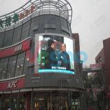 환기 풀 컬러 옥외 발광 다이오드 표시 스크린 6mm 광고
