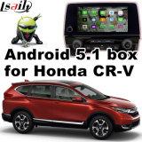 Interfaz video del sistema de navegación del GPS del androide 5.1 para la conexión androide del espejo retrovisor de la navegación del sistema del tacto del cr-v de Honda
