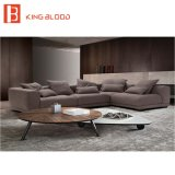 中国の居間の現代角のソファーの家具