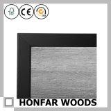 Cadre de tableau non fini en bois solide de taille faite sur commande pour DIY