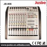 Jusbe jb-806 8 Kanaal 200With8ohm 400With4ohm Mixer van de Versterker van de Macht de Audio met USB 16 Vriendelijke DSP