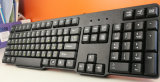 Связанная проволокой компьютером клавиатура разыгрыша мультимедиа Djj318 для настольный компьютер и компьтер-книжки