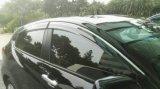 Máscara do respiradouro do defletor da chuva do protetor de Sun da viseira do indicador para BMW X5 08