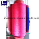 Spannlack gefärbtes Polyester-Garn DTY 150d/72f