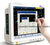 """12.1 """" ou 15.1 """" moniteurs patients multi du gaz ICU Nicu d'anesthésie de paramètre d'écran tactile (homologation de la CE, de FDA Etats-Unis, de SFDA)"""