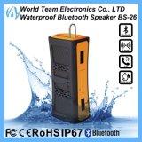 方法防水携帯用Bluetoothの無線電信のスピーカー