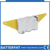Li-ion recargable 3.6V / 4.8V LiFePO4 / batería de Ni-CD para la luz de emergencia