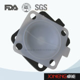 Нержавеющая сталь Гигиеническая Руководство Тип зажимная мембранный клапан (JN-DV1003)